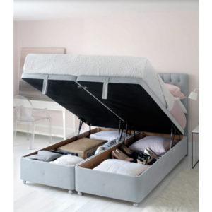 Υπόστρωμα με αποθηκευτικό χώρο Hypnos Bedes μοντέλο SUPERSTORAGE™
